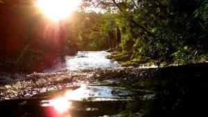 Arroyos naturales