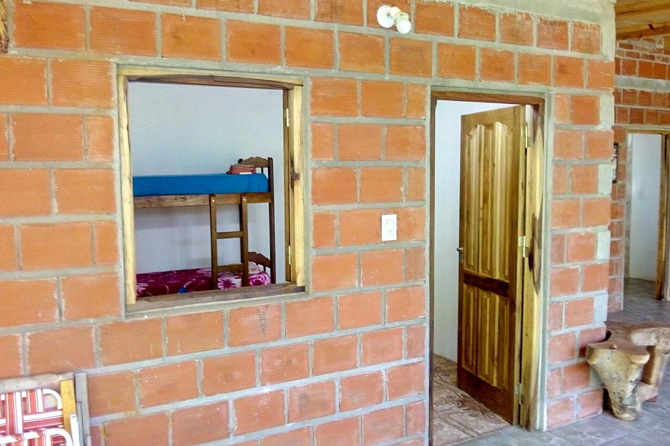 Exterior, galería, Hostel en El Soberbio, Misiones