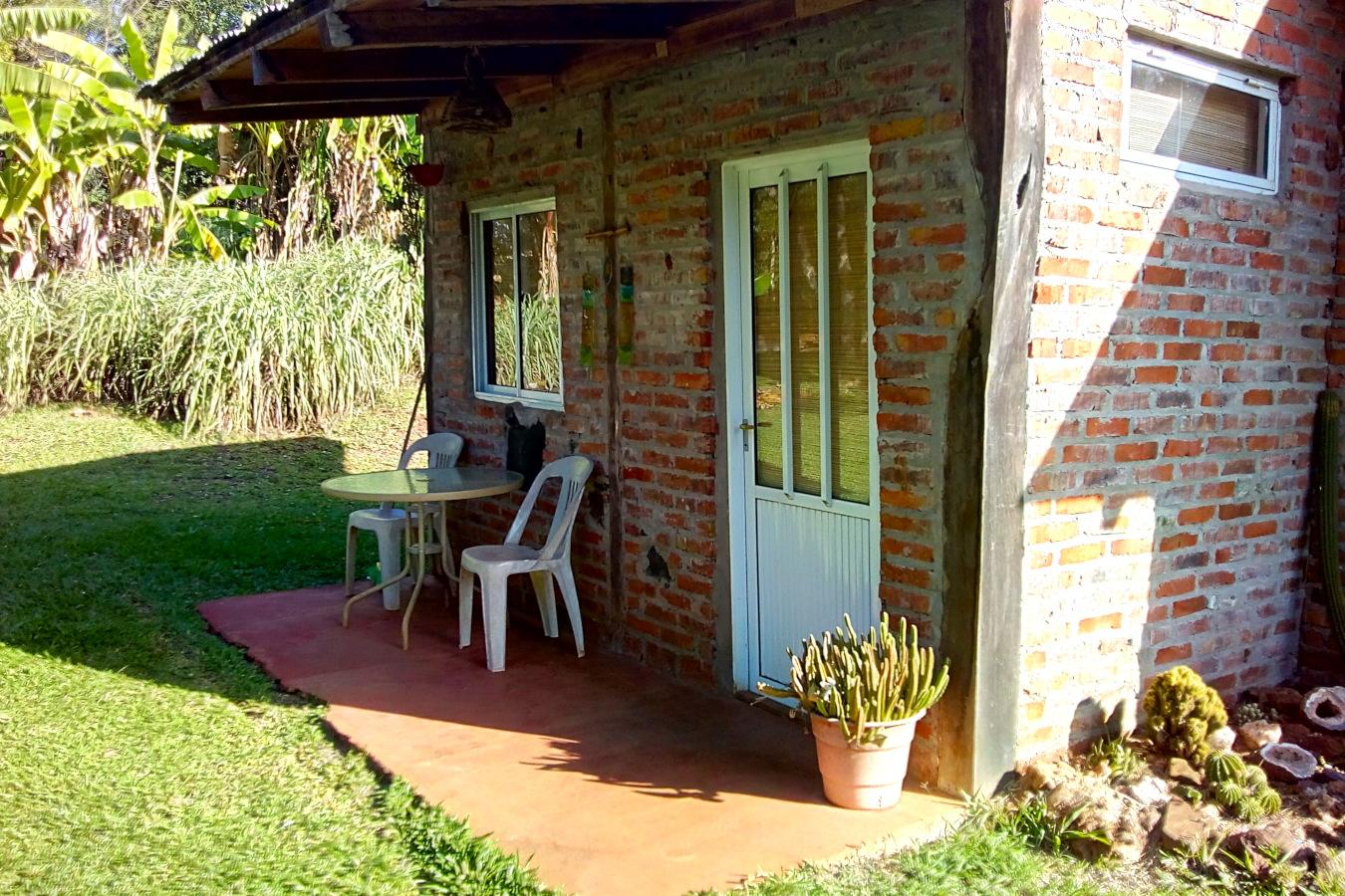 Alquiler cabaña en El Soberbio, Misiones