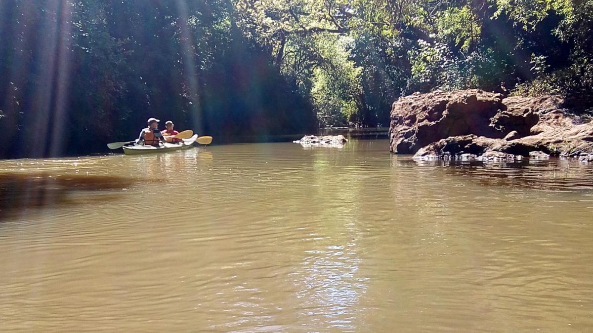 Paseos en kayak, El Soberbio, misiones